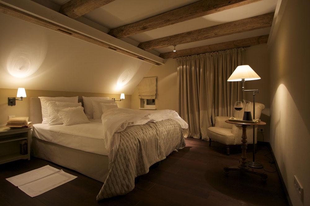 Herrenhaus-Schlafzimmer